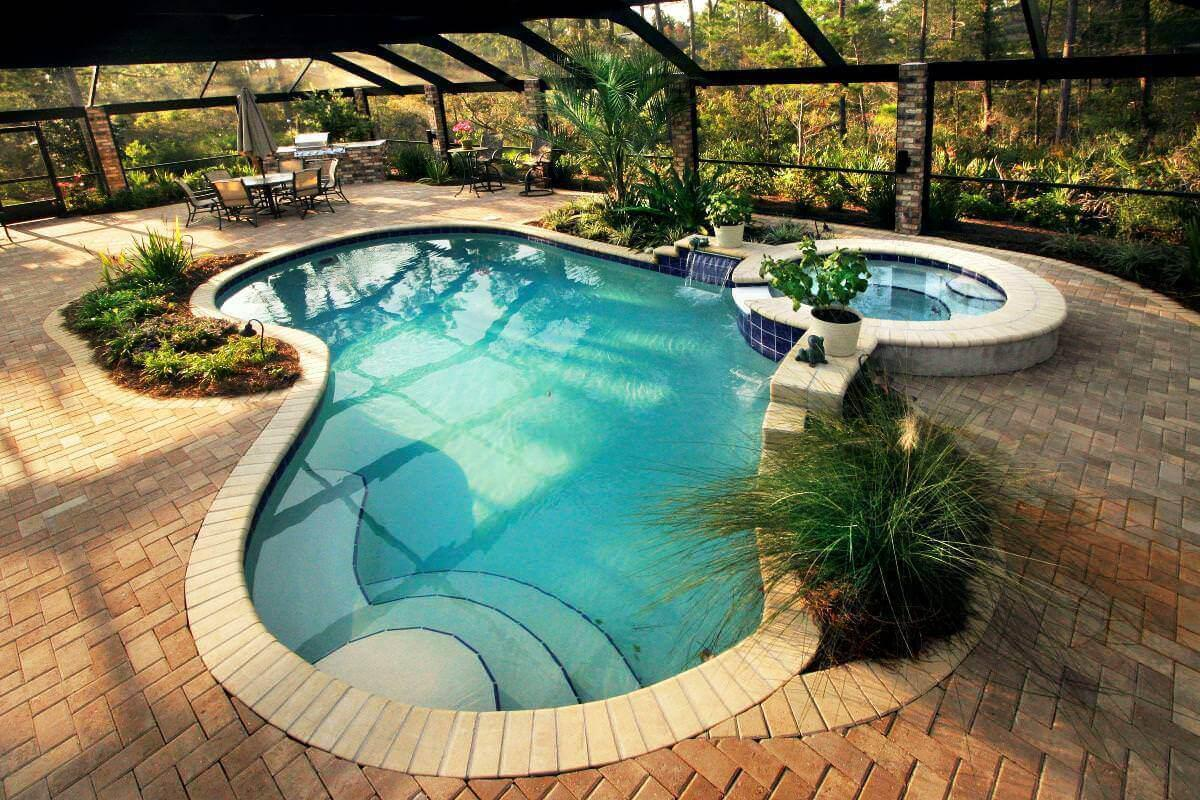 Image of: Beautiful Swimming Pool Designs