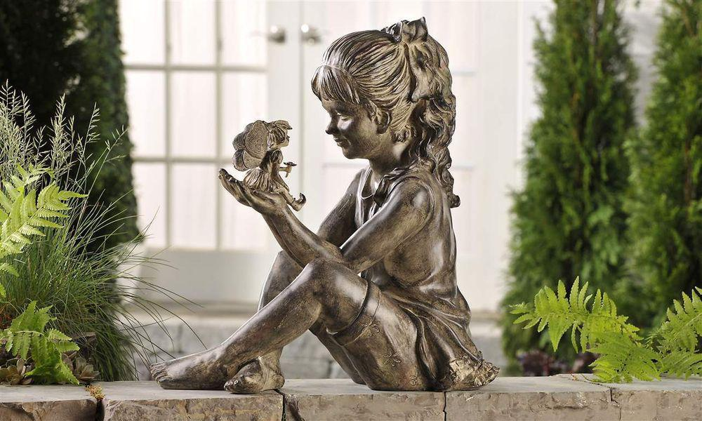 Image of: Beauty Cool Garden Statues