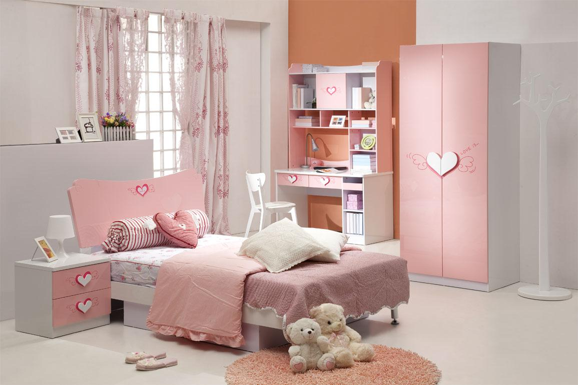 Image of: Beauty Pink Girls Room