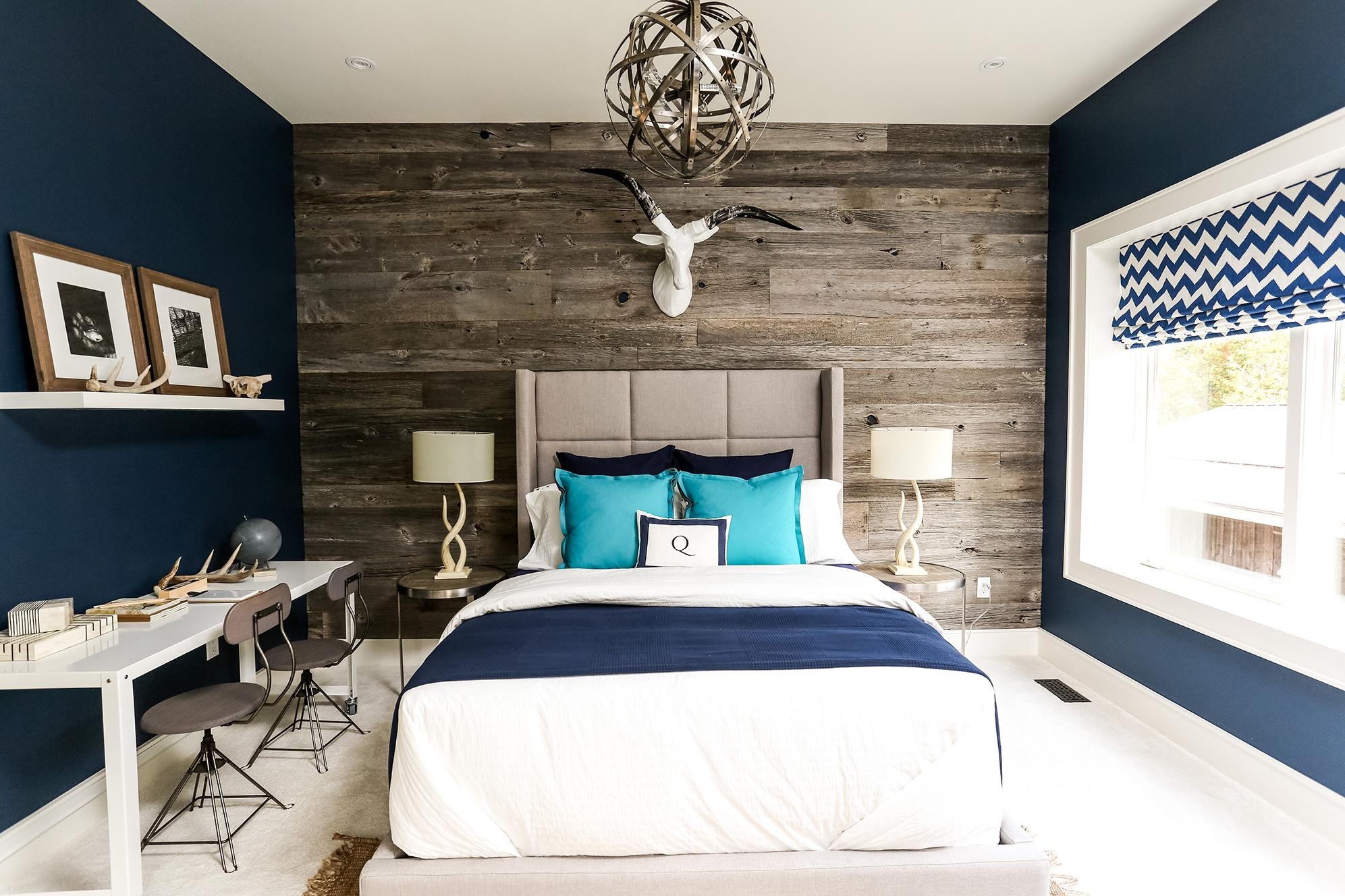 Image of: Bedroom Color Schemes Blue
