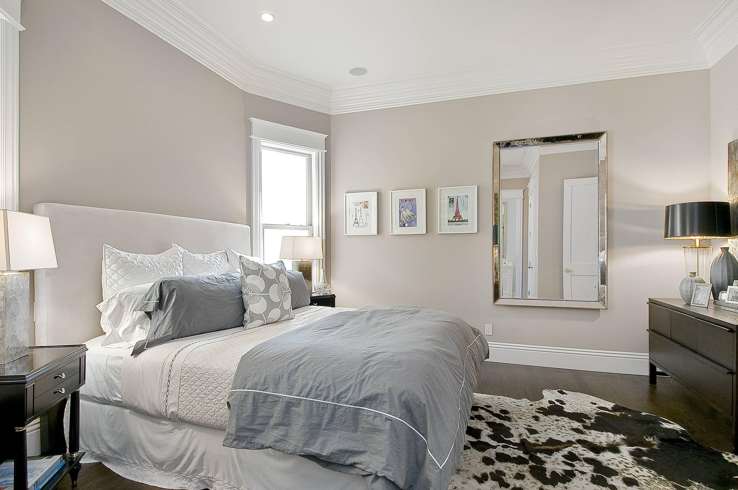 Image of: Bedroom Color Schemes Grey