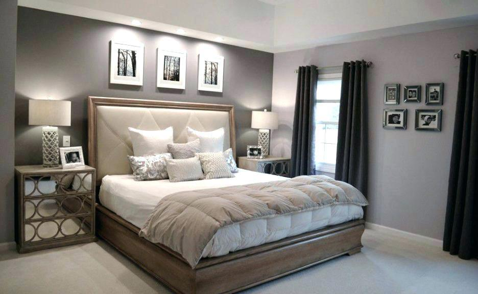 Image of: Bedroom Paint Schemes Grey