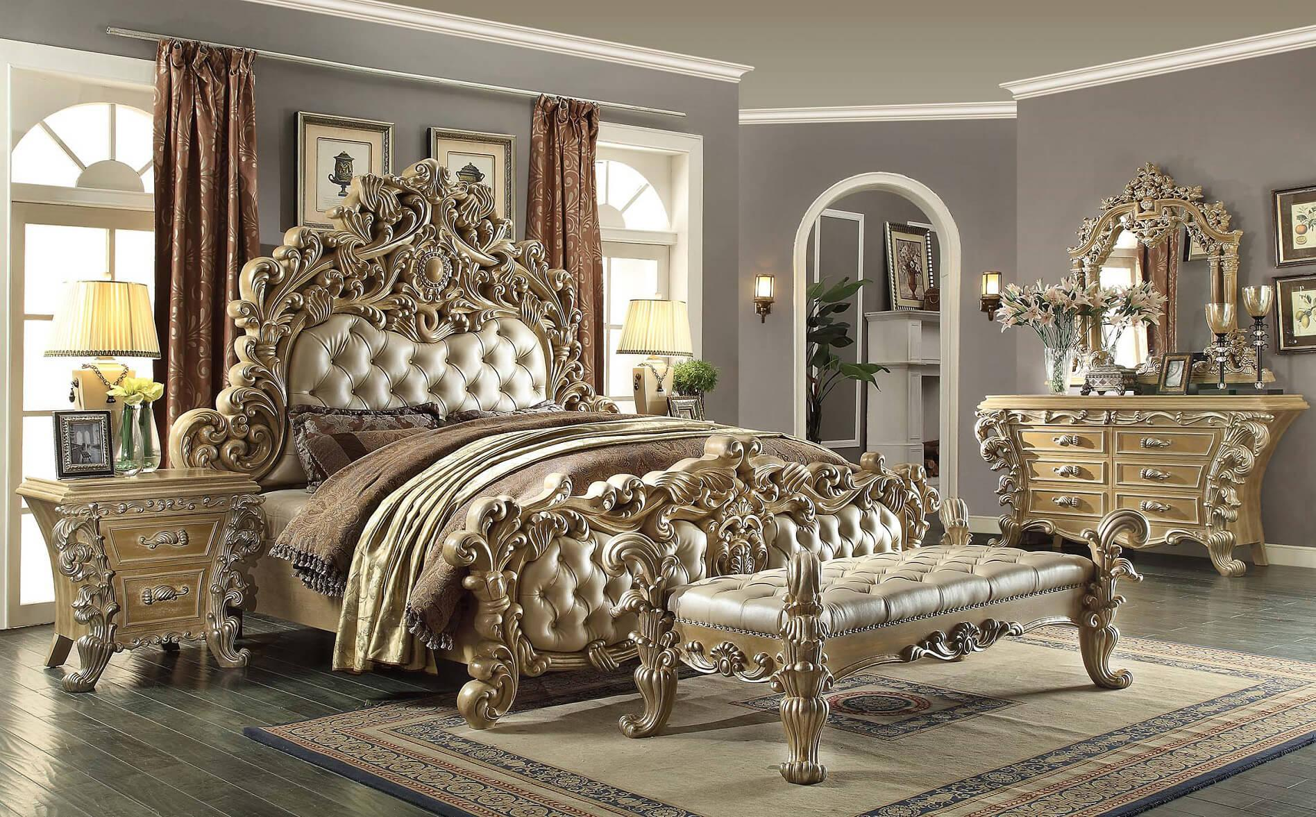 Image of: Bedroom Victorian Furniture Style