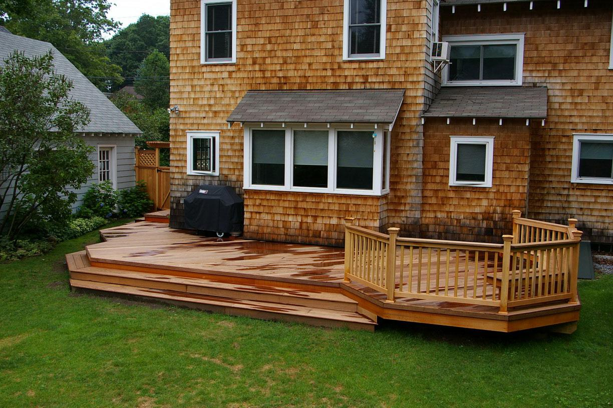 Image of: Best Backyard Deck Ideas