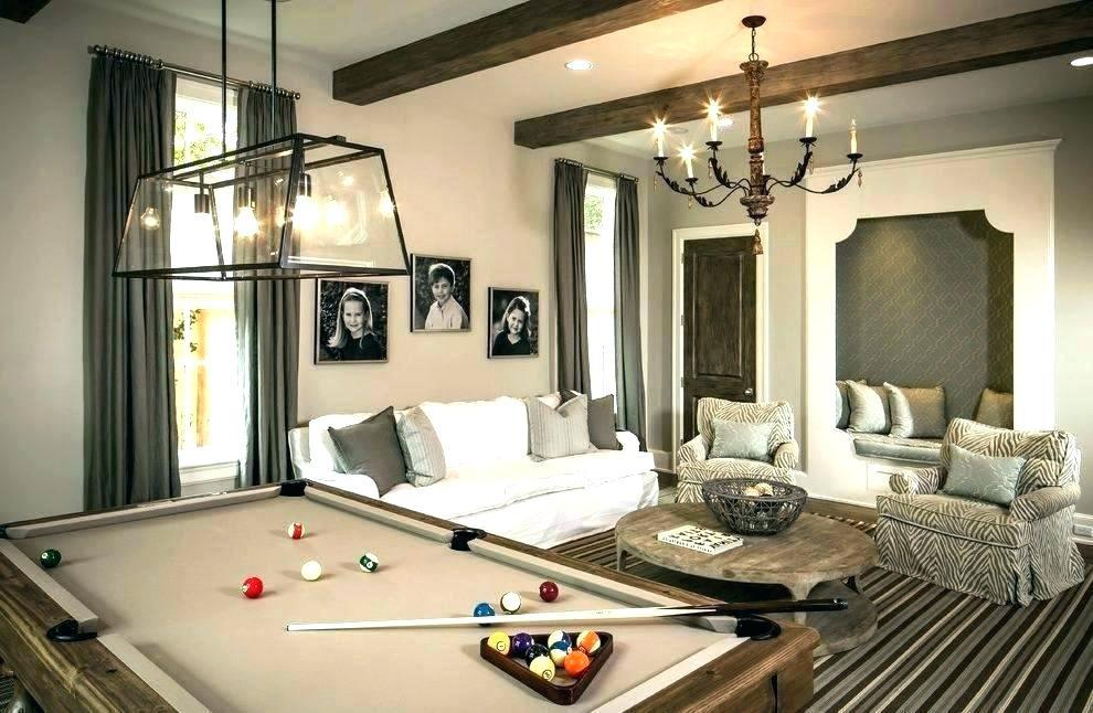 Image of: Best Billiard Room Decor