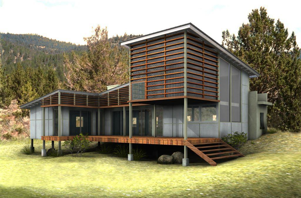 Image of: Best Eco Friendly House Plans