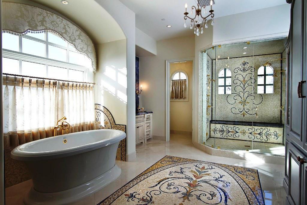 Image of: Best Mosaic Bathroom Designs