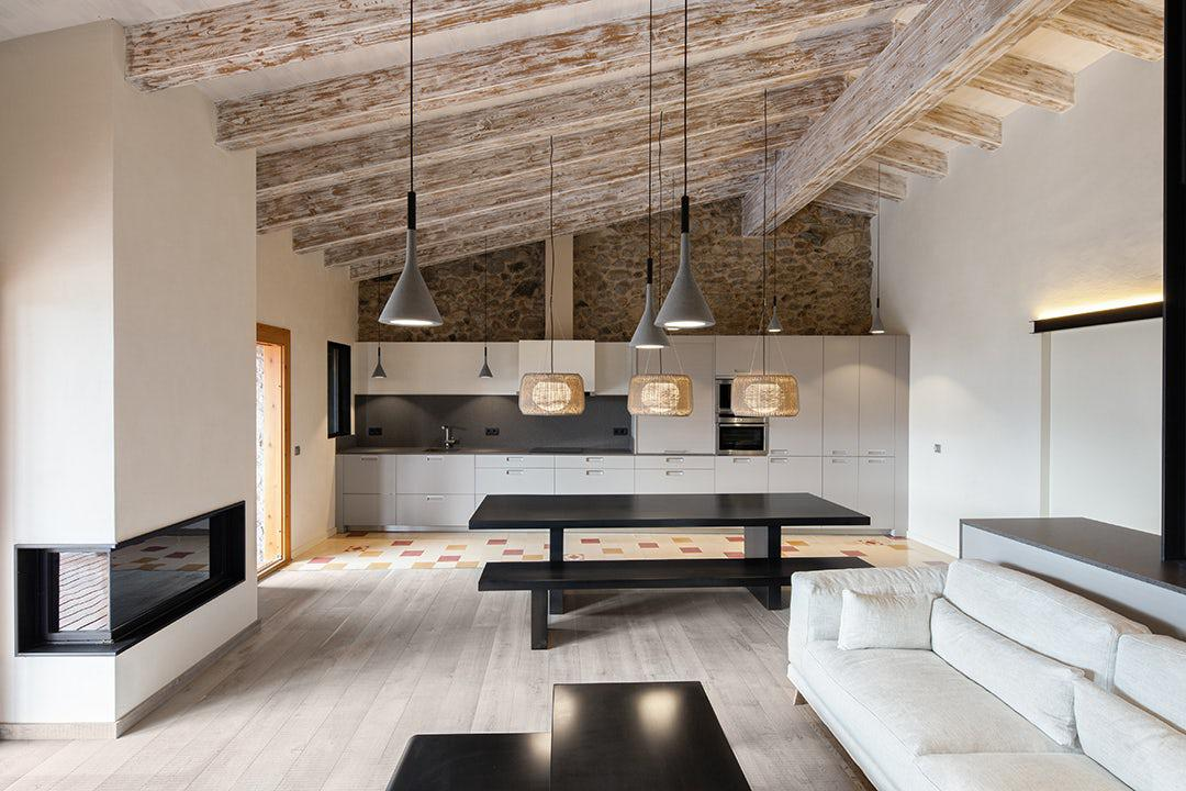 Image of: Best Rural House Interior