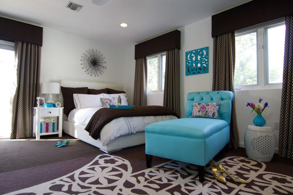 Image of: Best Turquoise And Brown Bedroom Ideas