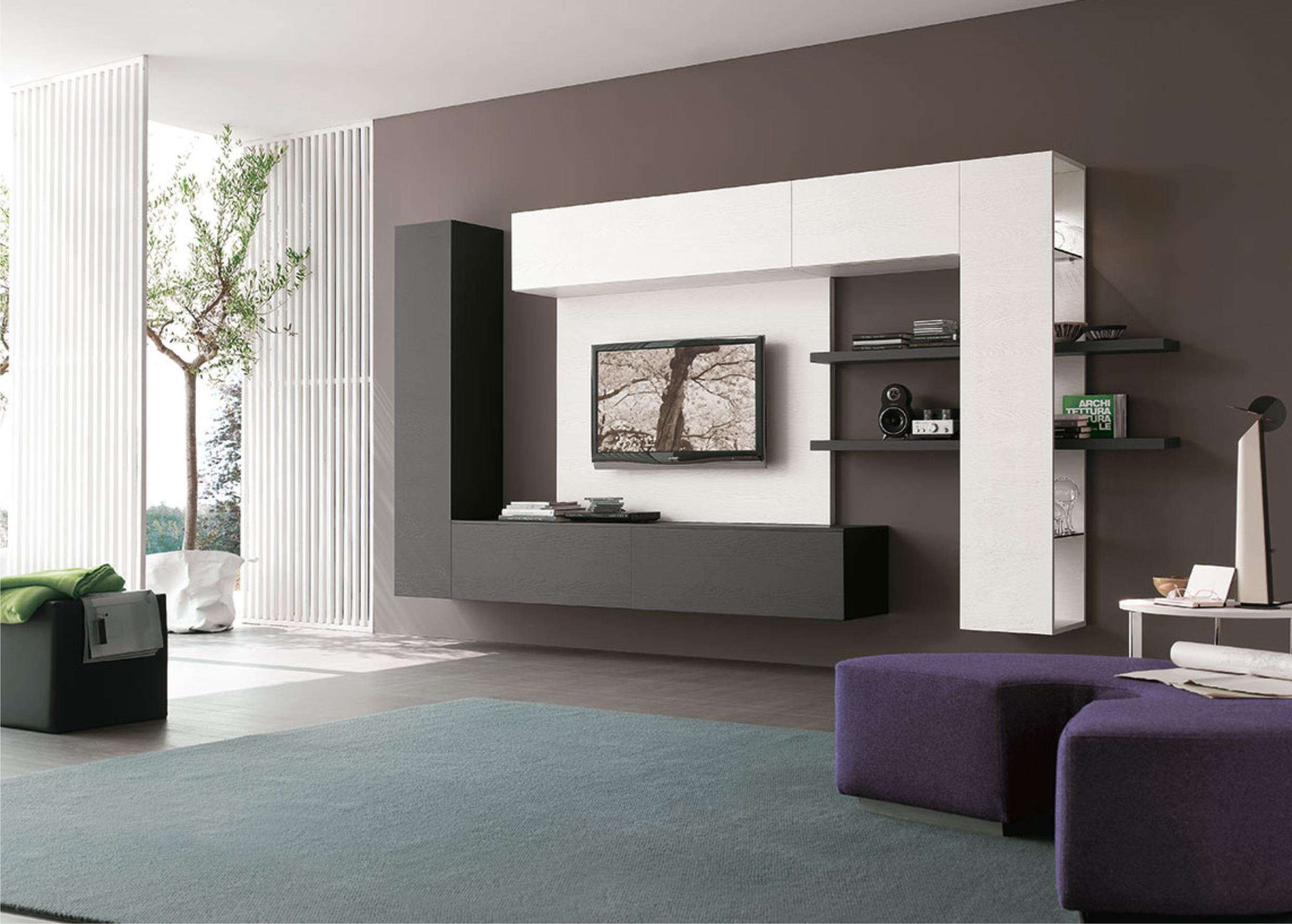 Image of: Best Wall Units Modern