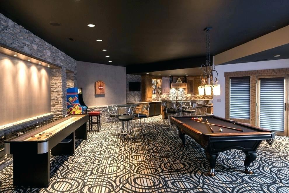 Image of: Billiard Room Decors