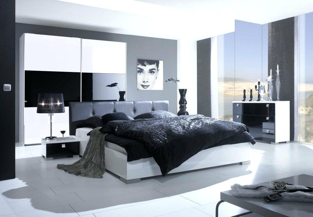 Image of: Black And Silver Bedroom Images