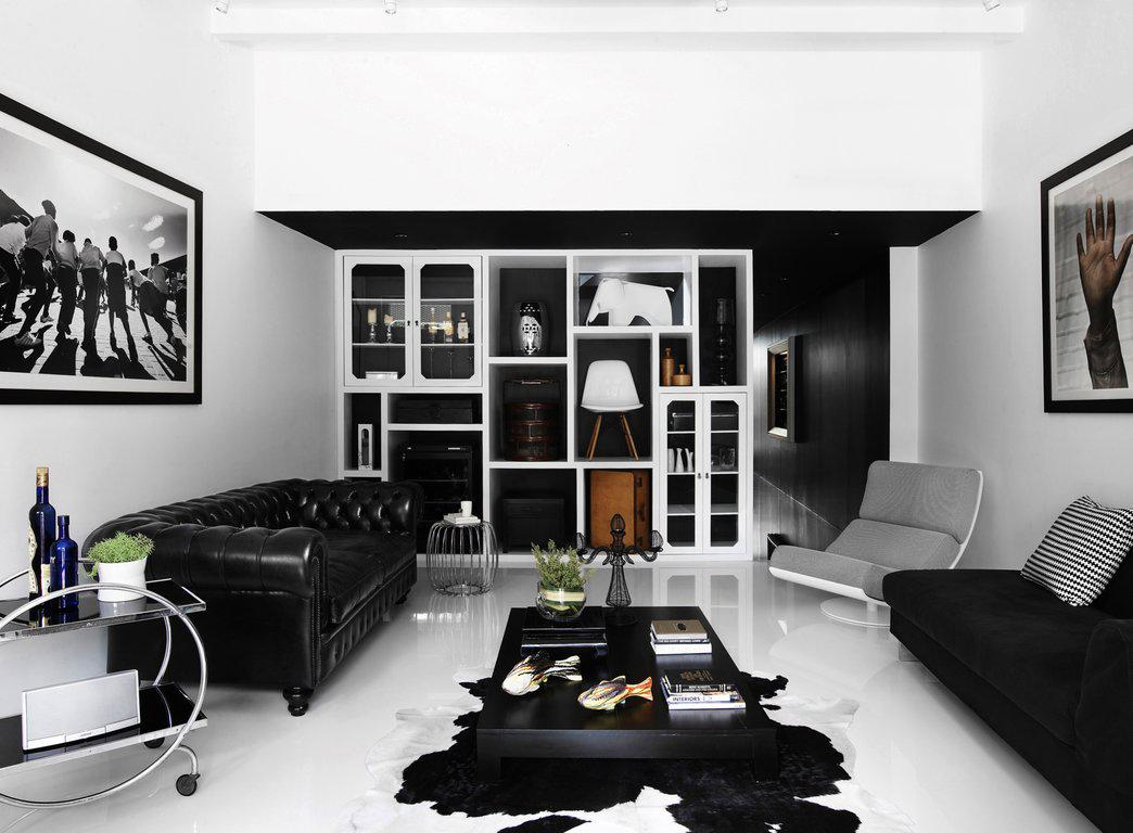 Image of: Black And White Wall Tile Designs