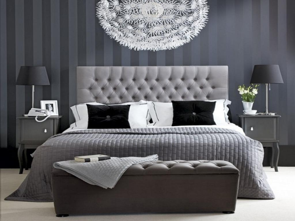 Image of: Black White And Silver Bedroom Ideas