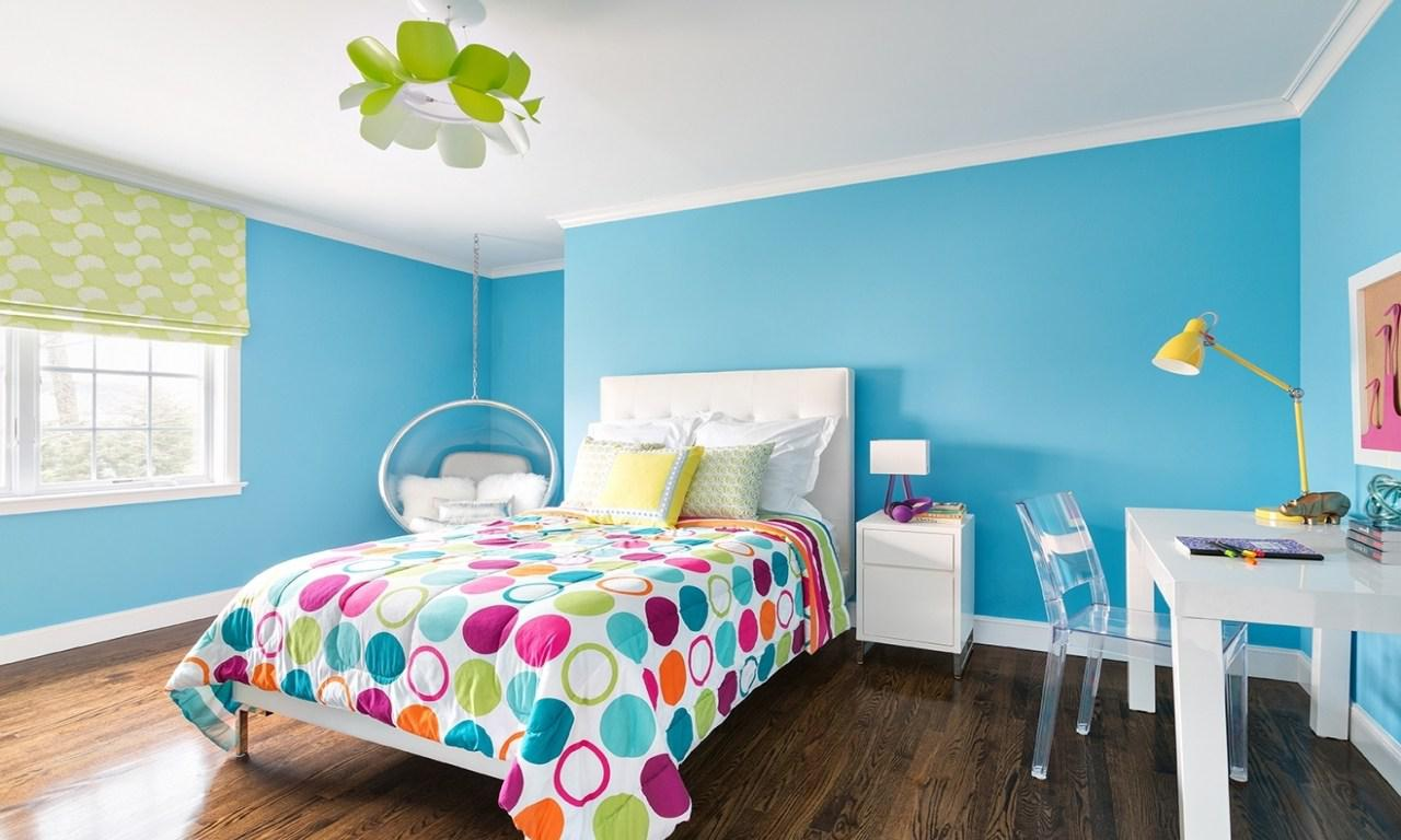 Image of: Blue And Pink Master Bedroom