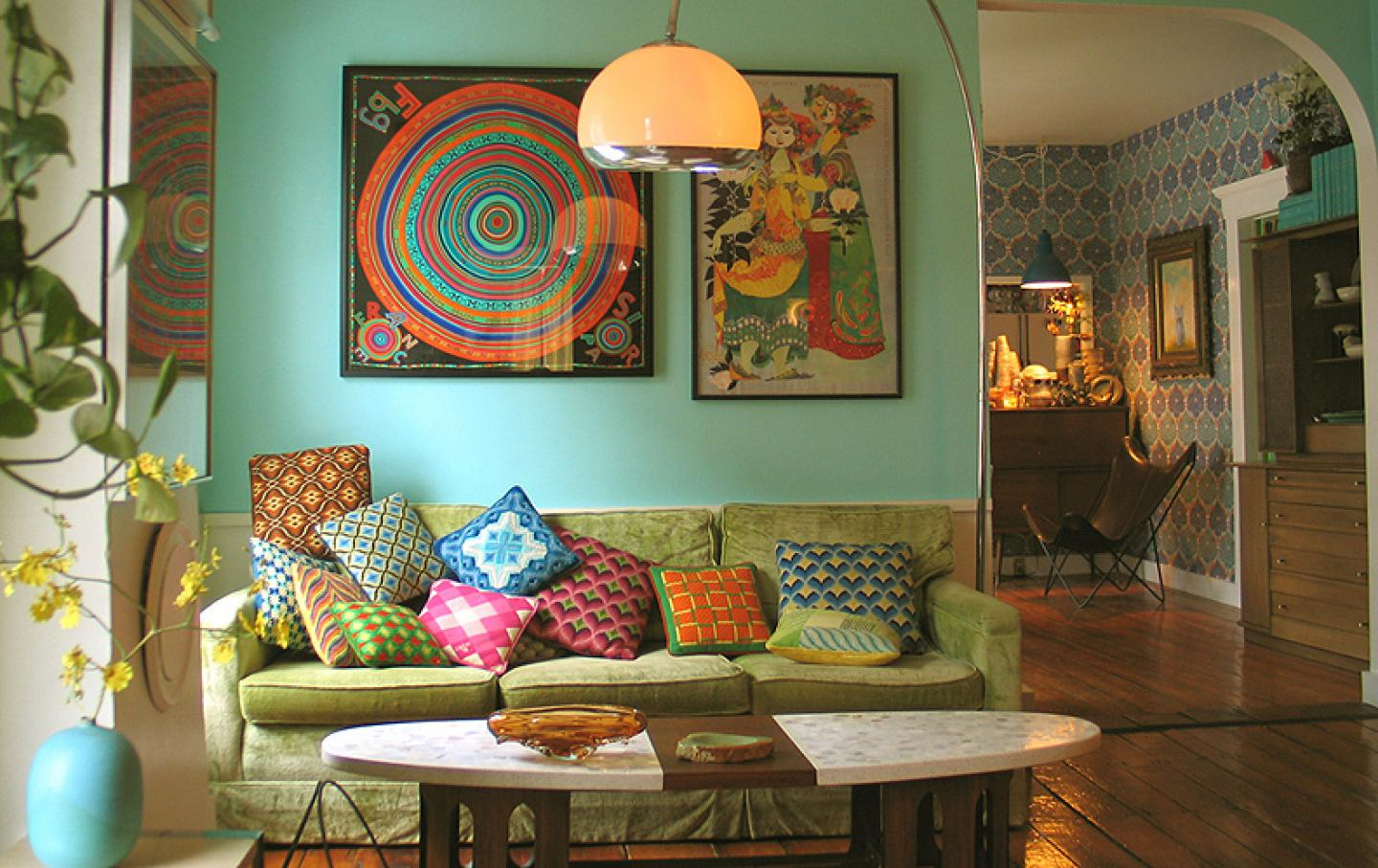 Image of: Bohemian Style Decors