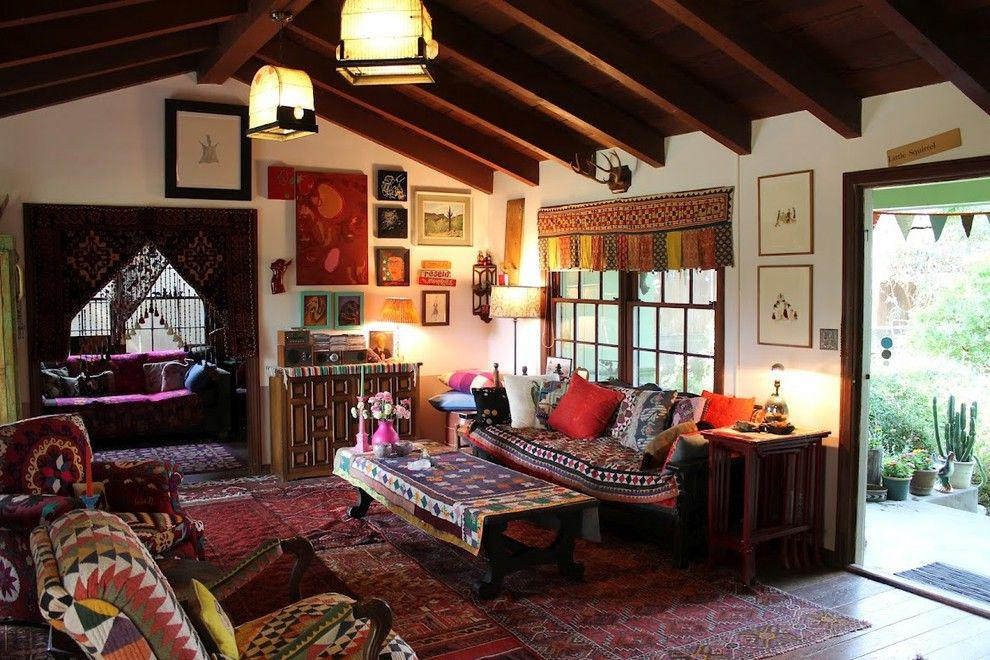 Image of: Bohemian Style Room Decor