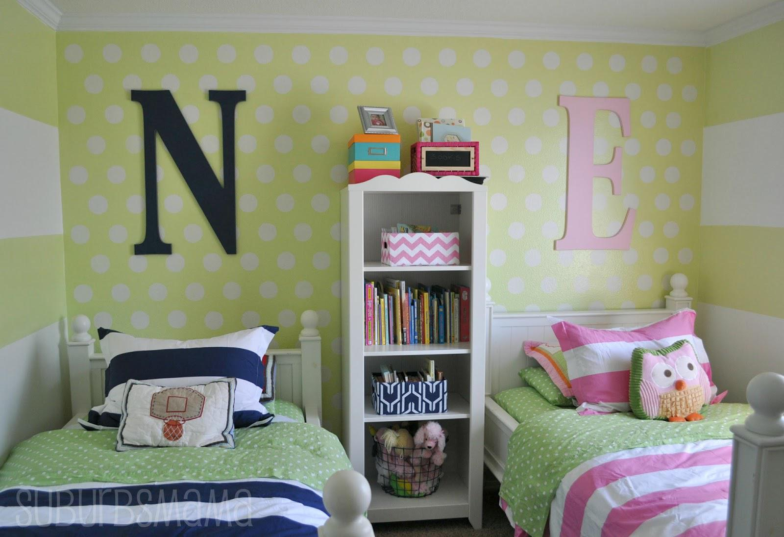 Image of: Boy Girl Twin Baby Room Ideas