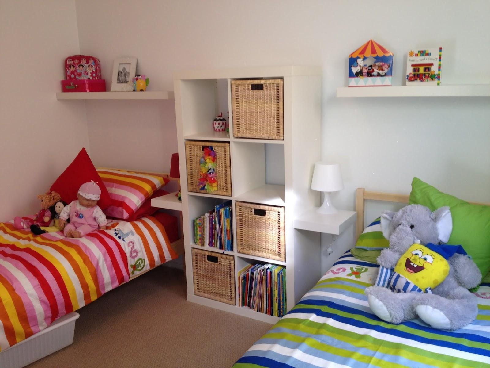 Image of: Boy Girl Twin Rooms Ideas