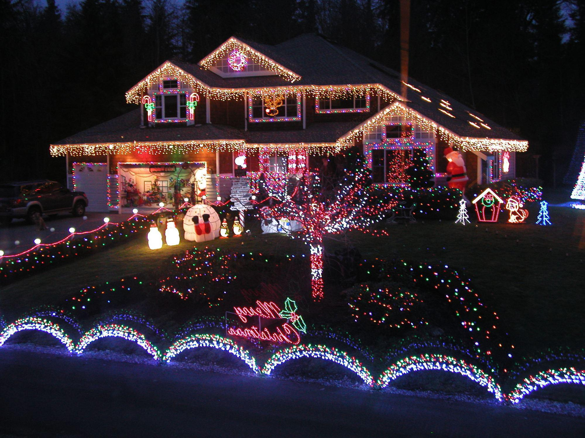 Image of: Christmas Lighting Decorations