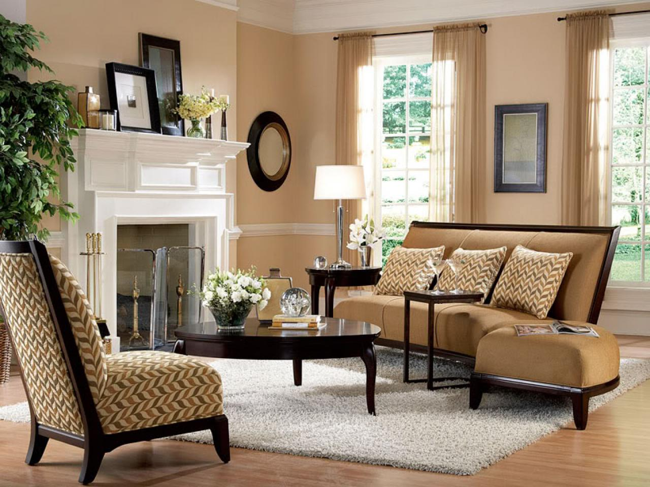 Image of: Comfortable Living Room Furniture