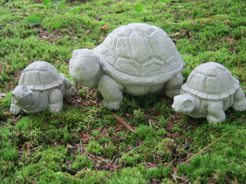 Image of: Concrete Garden Statues Animals
