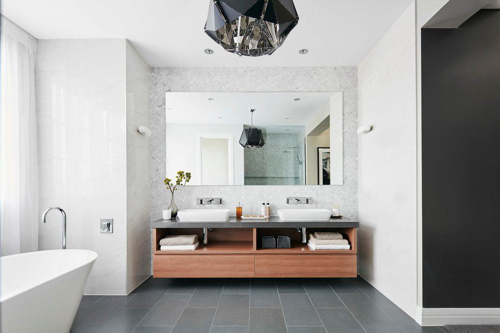 Image of: Contemporary Bathroom Vanities Ideas