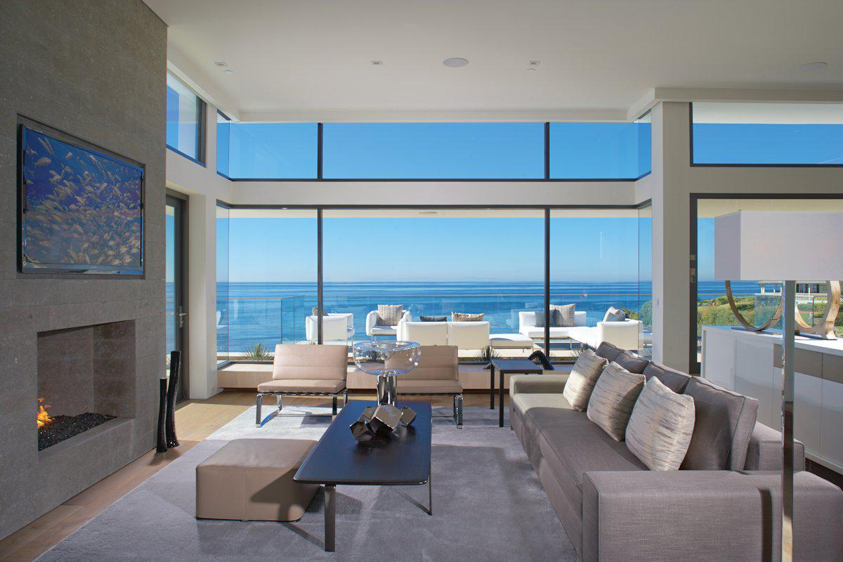 Image of: Contemporary Beach House Interior