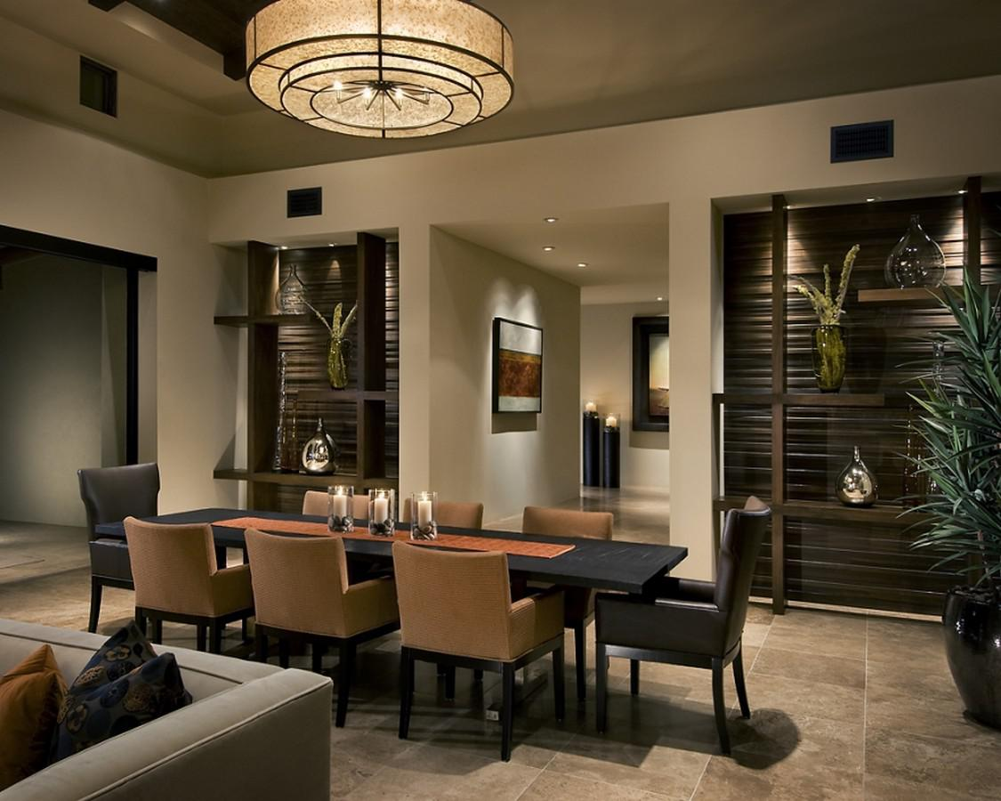 Image of: Contemporary Dining Room Apartment