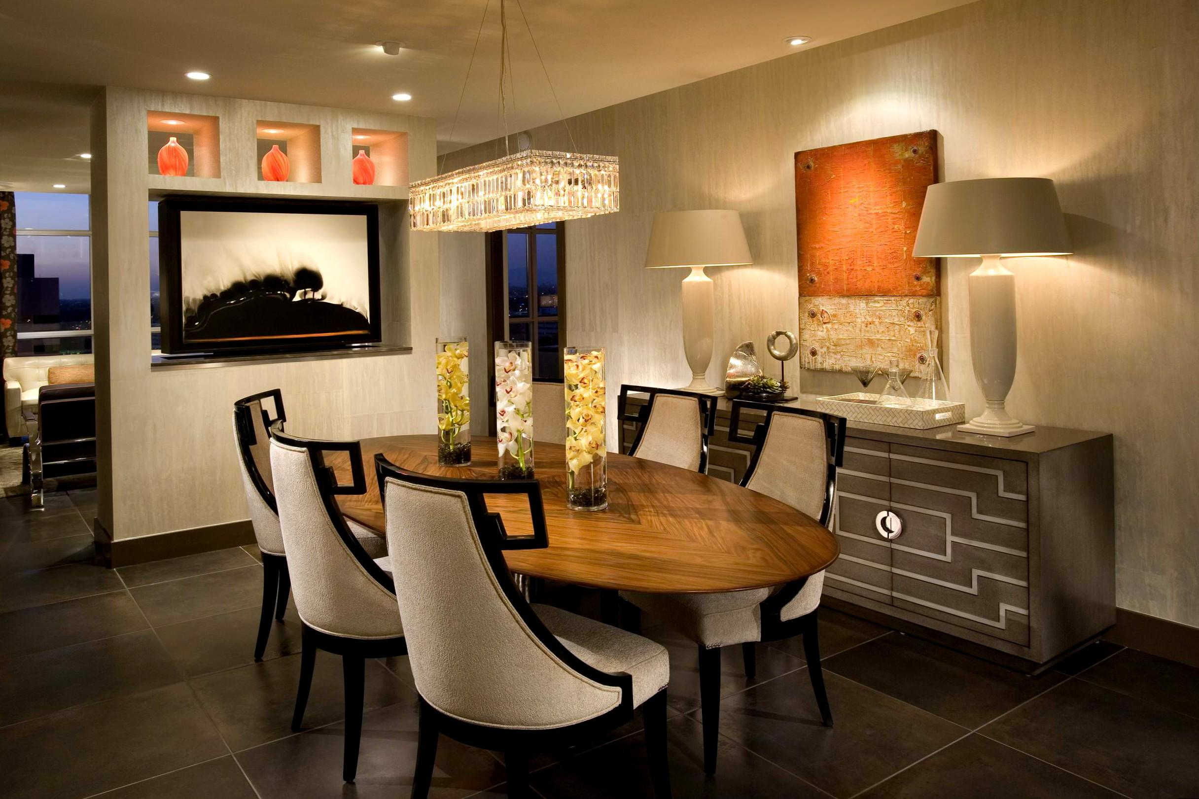 Image of: Contemporary Dining Room Decor