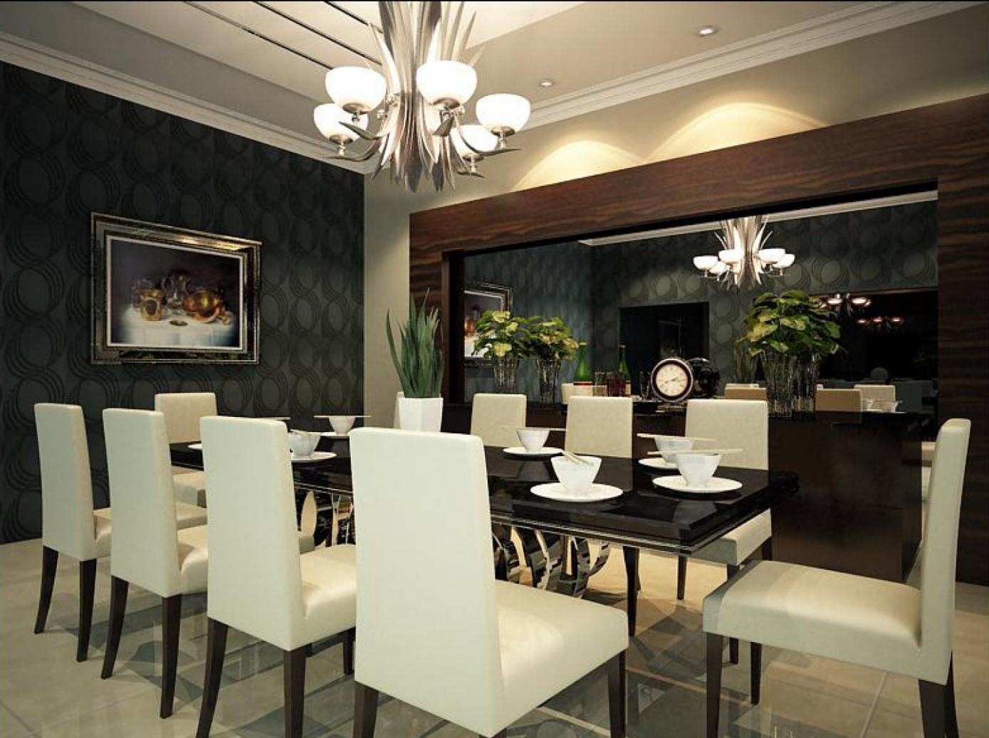 Image of: Contemporary Dining Room Sets