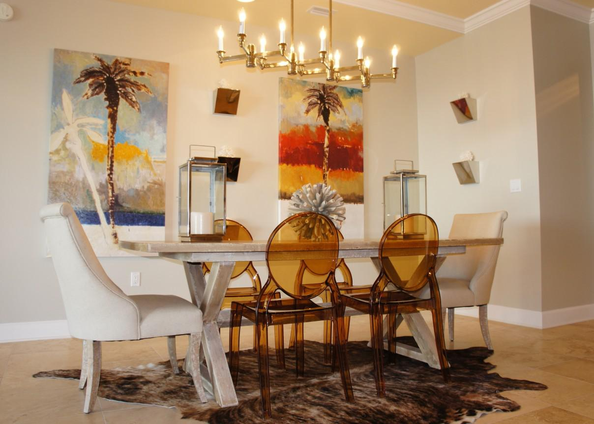 Image of: Contemporary Dining Room Table And Chairs