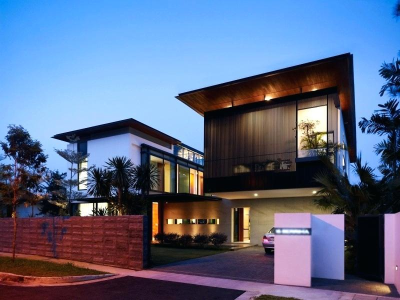 Image of: Contemporary House Exterior Design Ideas