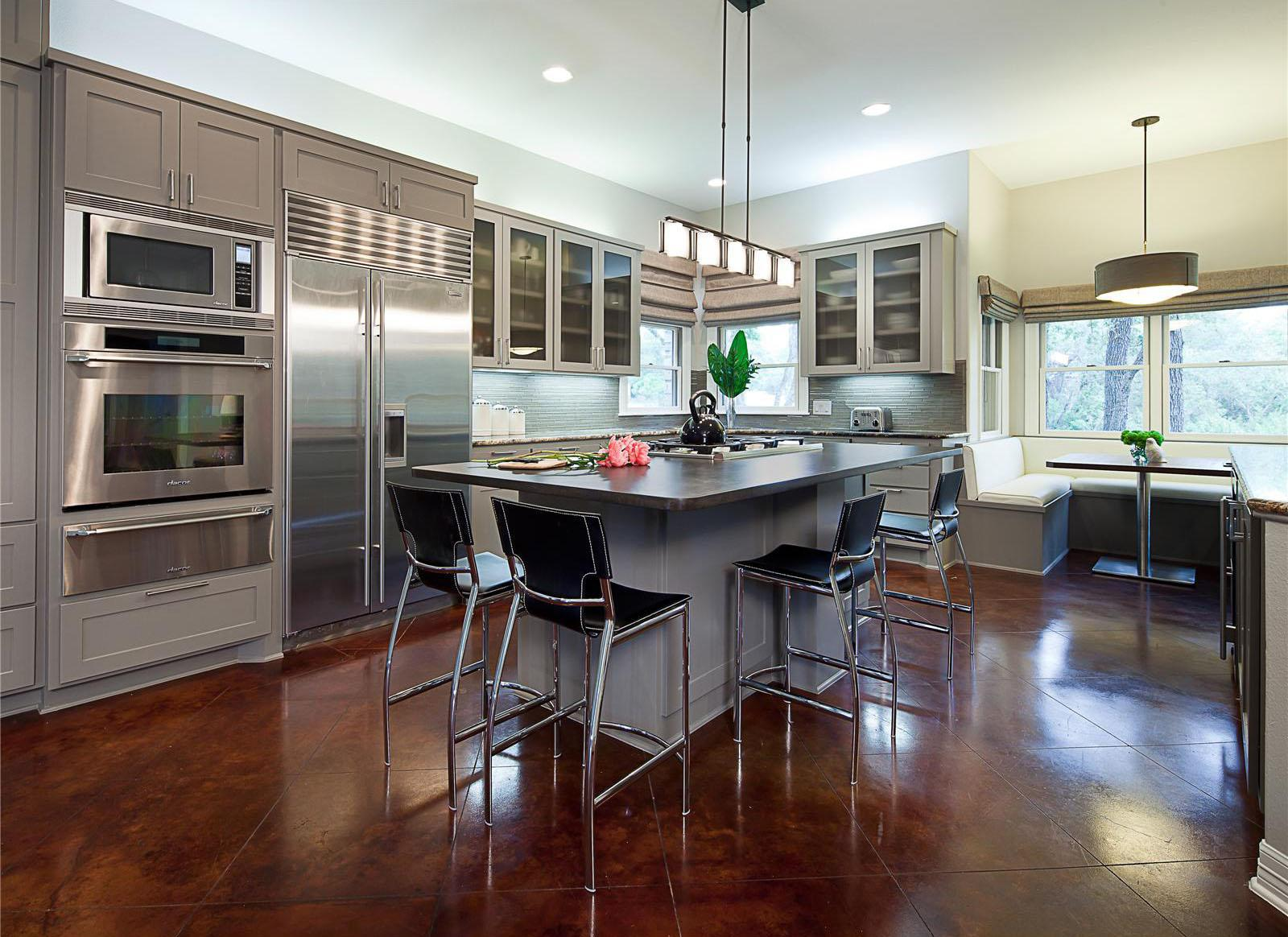 Contemporary Kitchen Design Layout Ideas