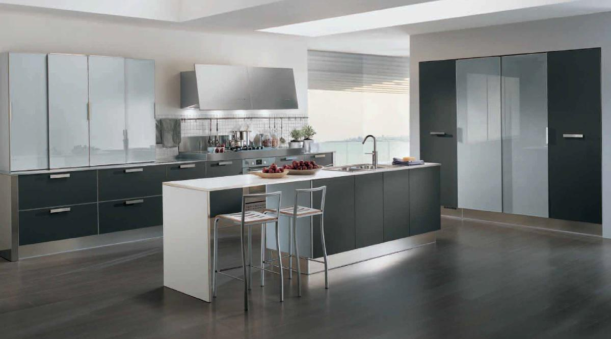 Image of: Contemporary Kitchen Design Layout
