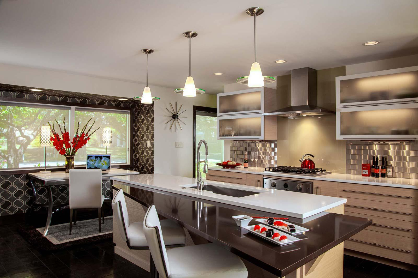 Image of: Contemporary Kitchen Designs With Island