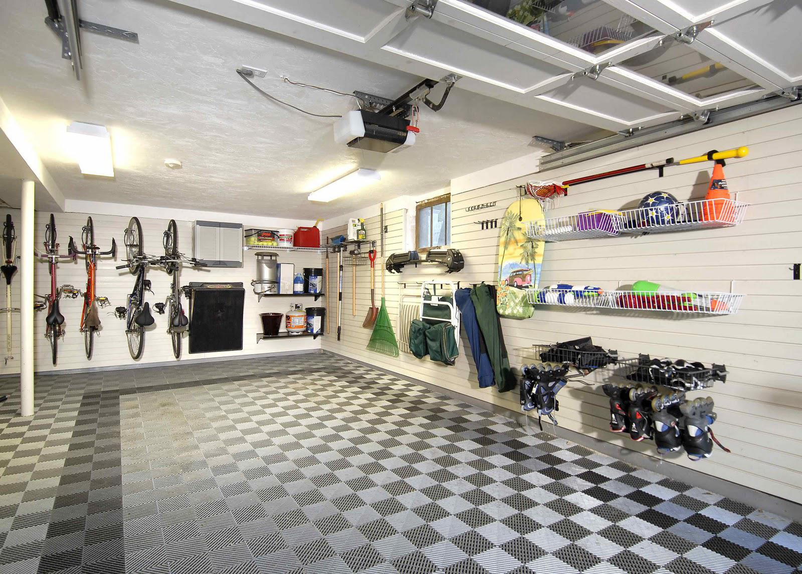 Image of: Cool Garage Storage Ideas