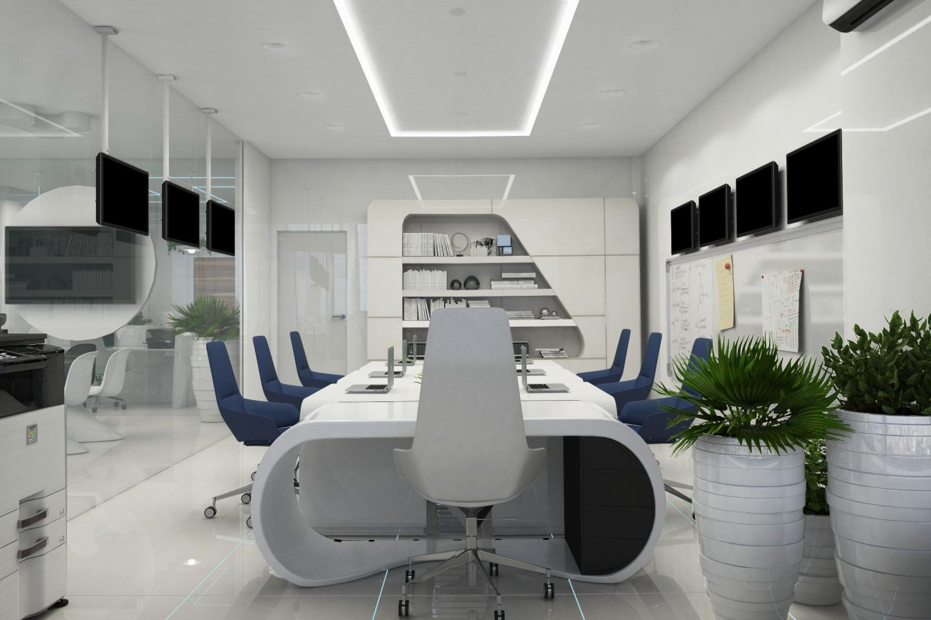Image of: Cool Office Design Layout