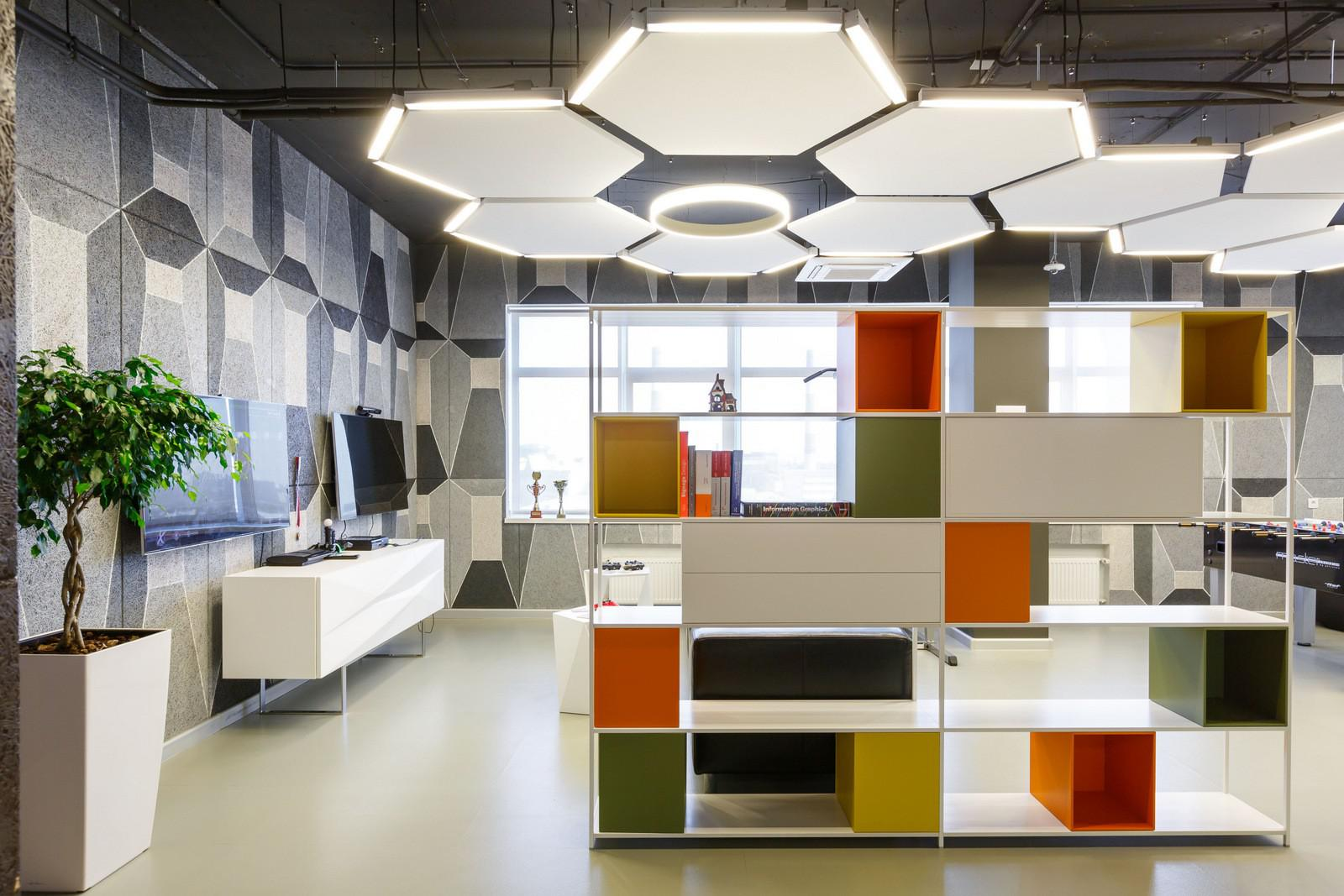 Image of: Cool Office Lighting Design