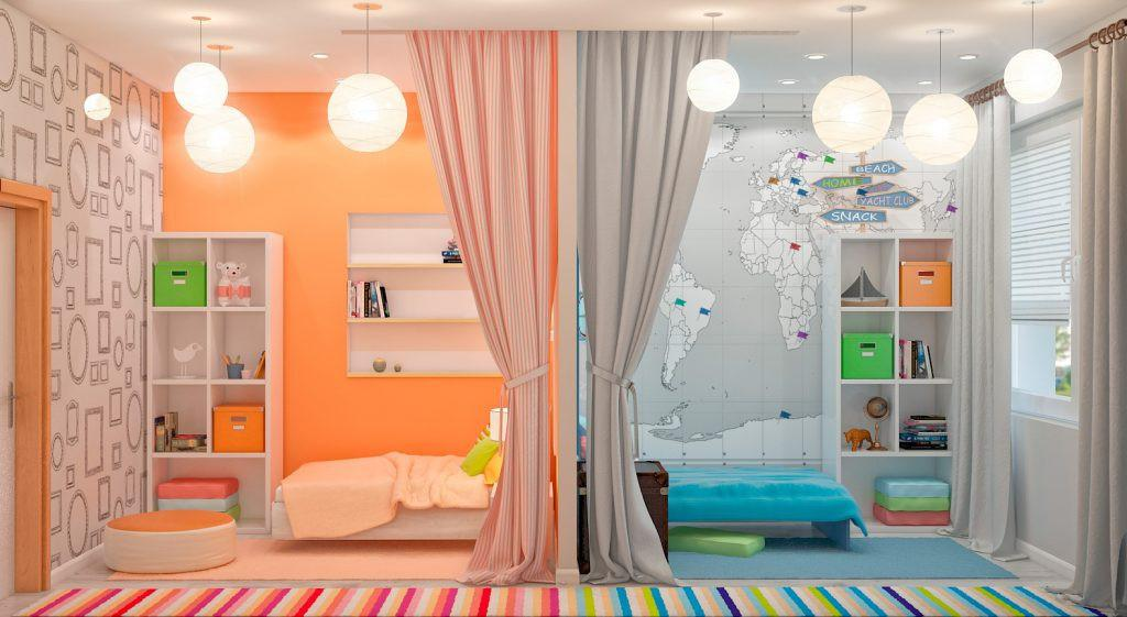 Image of: Cool Ways To Paint Your Room For Twins
