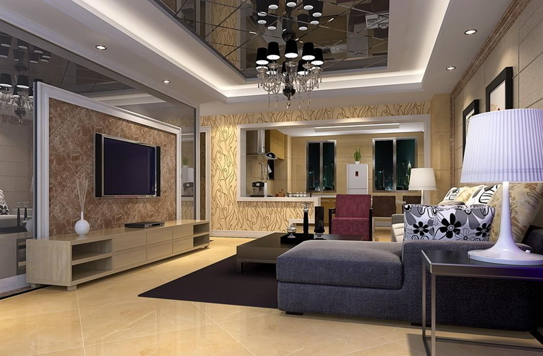 Image of: Corner Wall Mount Tv Ideas For Living Room