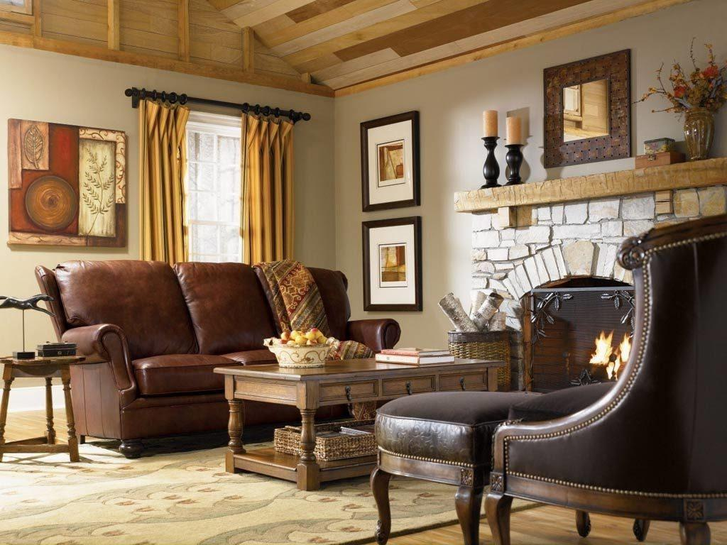 Image of: Country Home Interior Design Ideas