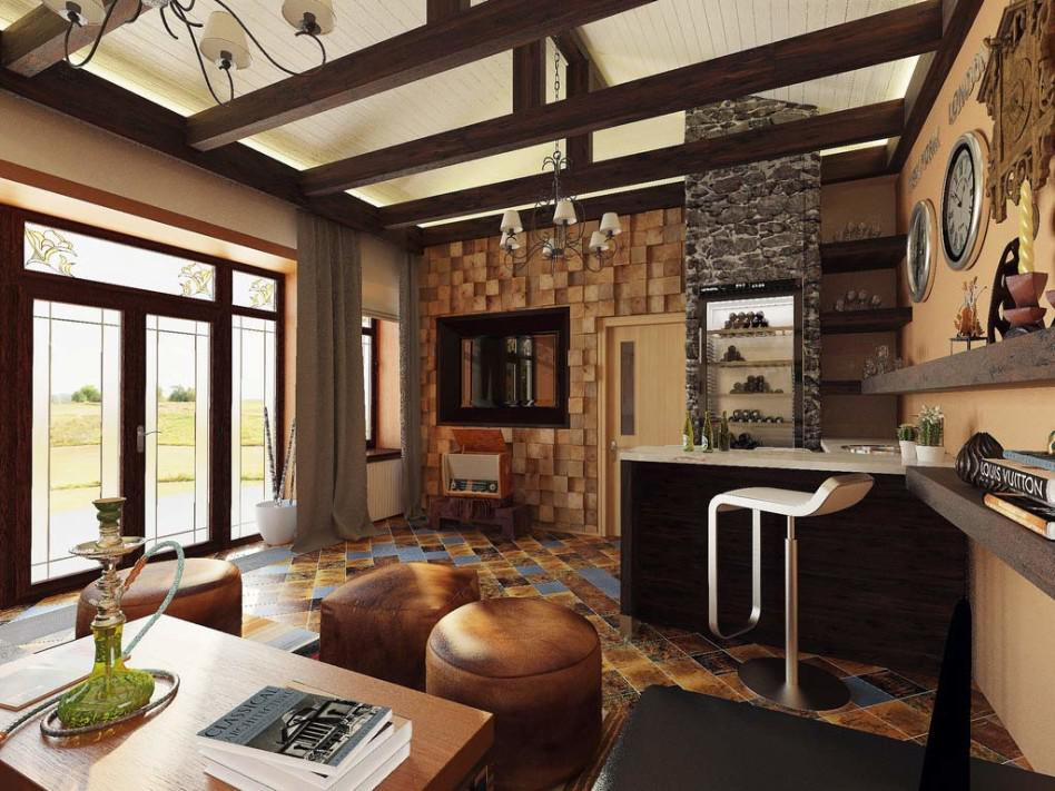 Image of: Country Home Interior Paint Ideas