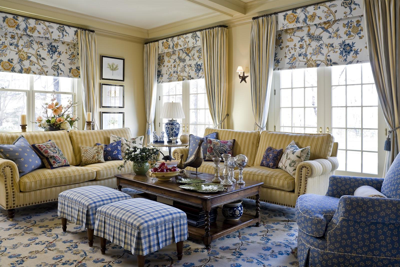 Image of: Country home interior Plans