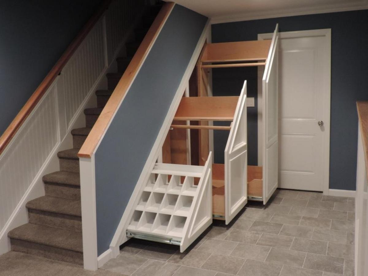 Image of: Cupboard Under The Stairs