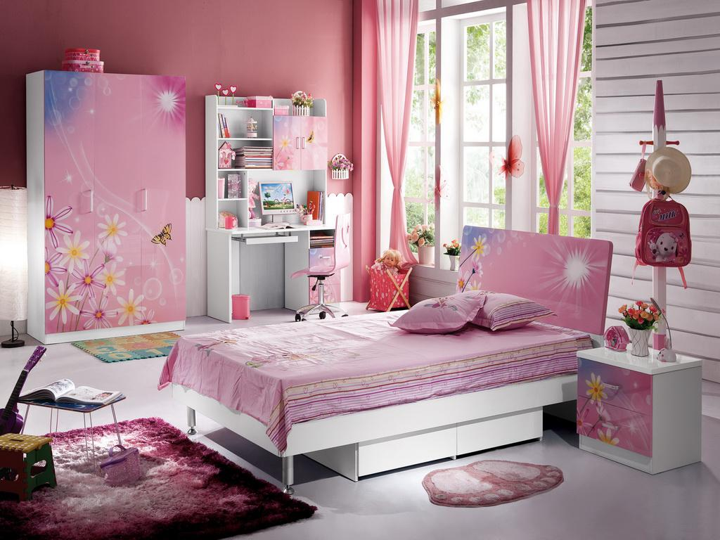 Image of: Cute Pink Girls Room