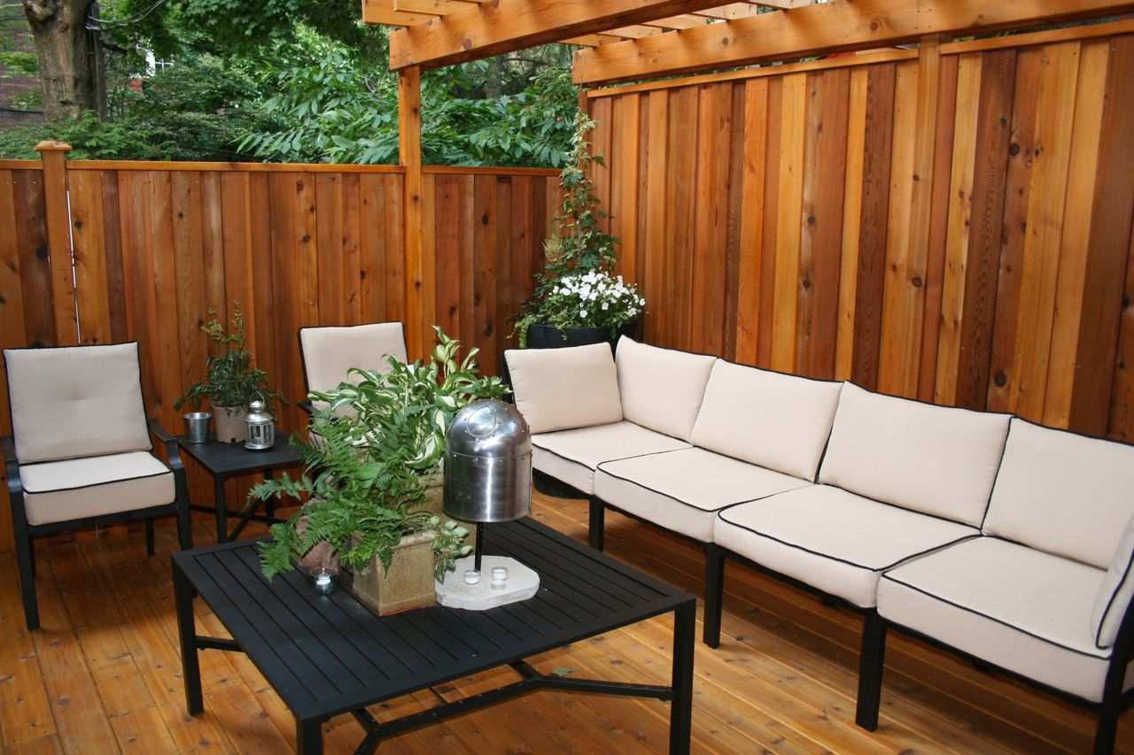 Image of: Deck Privacy Wall Ideas