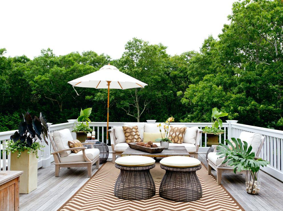 Deck Small Spaces Decorating Ideas