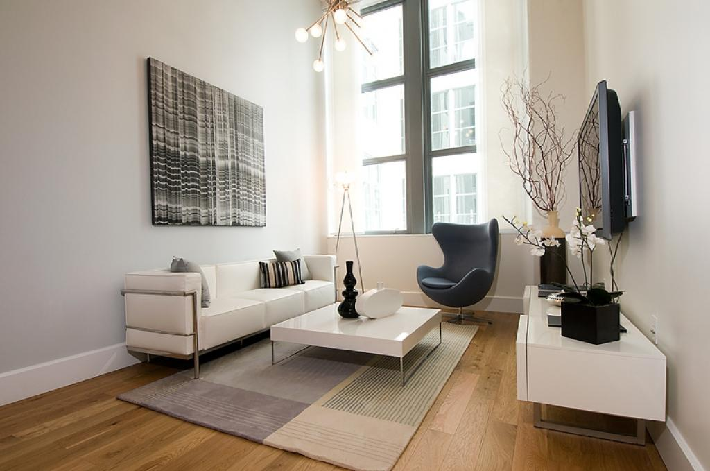 Image of: Decorate Small Spaces Living Room