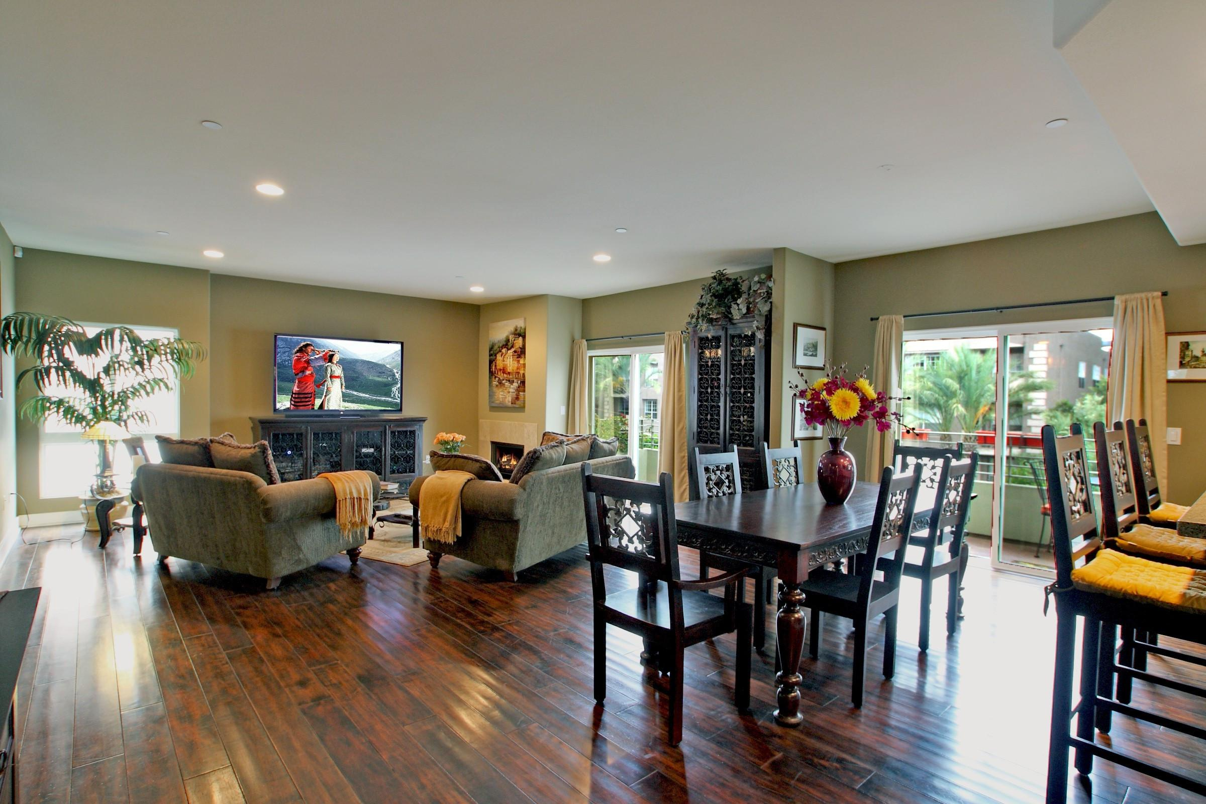 Image of: Decorating Long Narrow Living Dining Room Design